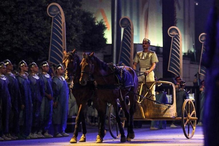 Espectacular desfile de momias reales en Egipto: síguelo aquí en directo